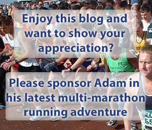 Sponsor Adam in Marathon Challenge